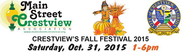 Crestview FL Halloween festival 2015
