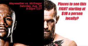 floyd mayweather conor mcgregor fight crestview fl